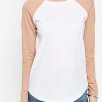 ASOS T-Shirt With Contrast Sleeve