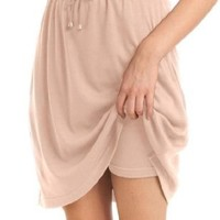 Women's Plus Size Skort In Soft Sport Knit With Custom-Fit Waist