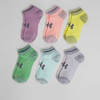 UNDER ARMOUR® ESSENTIAL 6 PACK LINER SOCKS