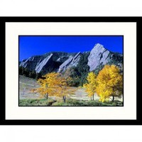 Great American Picture The Flatirons Boulder, Colorado Framed Photograph - Gary Conner - IS458975A - Decor