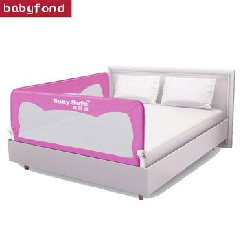 Babyfond Baby Anti Fall Bedside Barrier Children's Bed Fence 180cm, 120cm, 150cm Universal Baby Bed Railing baby bed rails