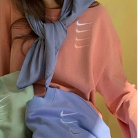 """ NIKE"" Women Men Hot Hoodie Cute Sweater"