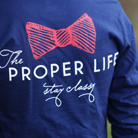 The Proper LIfe T-Shirt by Proper Kid Problems