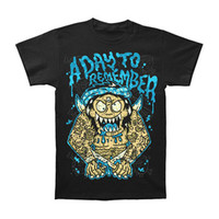 A Day To Remember Men's  Samurai T-shirt Black