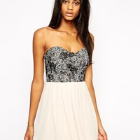 TFNC | TFNC Prom Dress With Lace Bodice at ASOS
