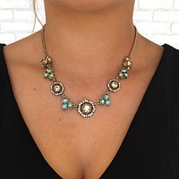 Blinded By Love Crystal Statement Necklace