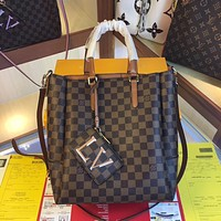 lv louis vuitton women leather shoulder bags satchel tote bag handbag 37