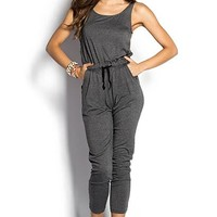 Riley Gray Casual Slouchy Harem Jumpsuit