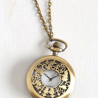 Vintage Inspired It's Always Tea Time Necklace by ModCloth