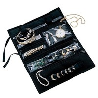 Jewelry Roll Pouch - College dorm accessory organizer college dorm room supplies dorm products dorm stuff dorm accessories dorm item