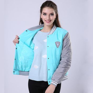 New Winter Fashion Uniform Warm  Cotton Jacket