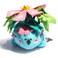 """Venusaur Plush Toy With Tag Cute Pokemon Collective Dolls 6""""15CM Free Shipping"""