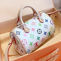Louis Vuitton LV Popular Women Shopping Bag Leather Handbag Tote Crossbody Satchel Shoulder Bag