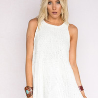 Babydoll Knitted Sweater Tank