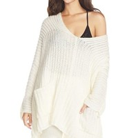 Women's Free People Deep V-Neck Sweater Tunic,