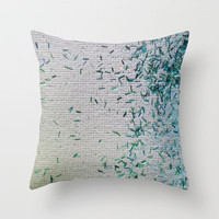 Tickle Me Teal Throw Pillow by jlbrady213 & KBY | Society6