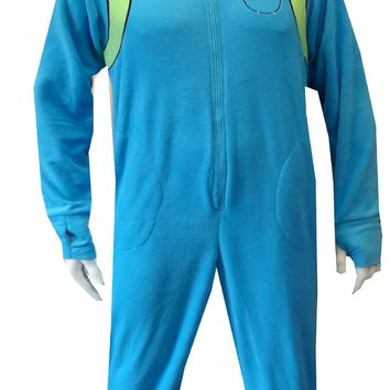 Adventure Time Finn The Human One Piece Footie Pajama