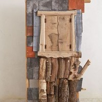 Richard Keal Handcarved Wall Cupboard in Assorted Size: One Size Decor