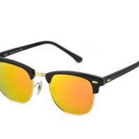 Ray-Ban Clubmaster Sunglasses 51mm Black Frame