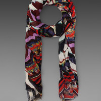 Marc by Marc Jacobs Flag Stripe Scarf in Rainbow Multi from REVOLVEclothing.com