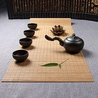 Newest Bamboo Style Table Runner For Dining Decor