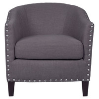 Sommers Arm Chair in Dove