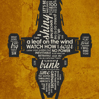 Firefly Serenity Inspired Quote Poster