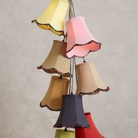 Vivid Tulips Chandelier by Anthropologie Multi One Size Lighting