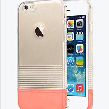 """iPhone 6s / 6 Clear Case, Candy Pantone Thin Protective Case for Apple iPhone 6 / iPhone 6s 4.7"""" (Turquoise)"""