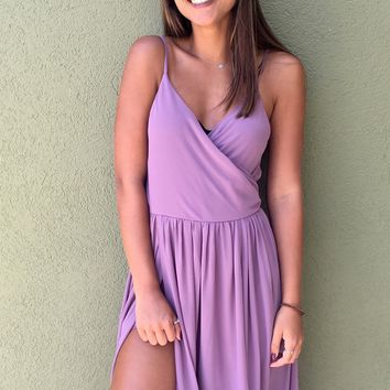 Ballerina Beauty Romper - Purple