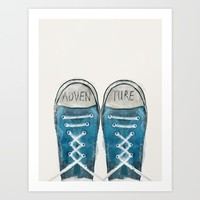 Adventure Art Print by bri.buckley