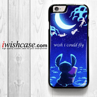 Hawaiian Culture In Stitch-Peter Pan Flying Quote for iPhone 4 4S 5 5S 5C 6 6 Plus , iPod Touch 4 5  , Samsung Galaxy S3 S4 S5 S6 S6 Edge Note 3 Note 4 , and HTC One X M7 M8 Case