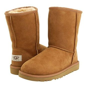 UGG tide brand men and women fashion warm snow boots shoes F
