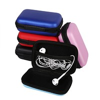 Mini Storage Bag Gadgets Organizer Portable Case For Earphone