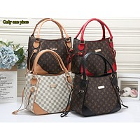 LV Fashion Full Print Colour Shopping Bag for Ladies One Shoulder Bag