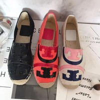 TB Tory Burch new cheap Women Leather Black pink red flat heels Boots Fashion Casual Shoes Best Quality