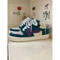 Off-white  Fashion Men Women's Casual Running Sport Shoes Sneakers   Slipper Sandals High Heels Shoes