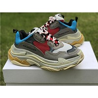 Balenciaga Triple S Trainers Gray Sneakers 35-44