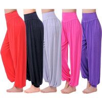 New Fashion Neon Color Patchwork Women's Yoga Sports Leggings Stretch Tights Pants = 1932214148