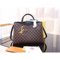 LV Louis Vuitton WOMEN'S DAMIER CANVAS HANDBAG SHOULDER BAG