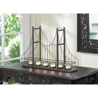 Golden Gate Bridge Candle Holder