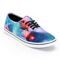Vans Authentic Lo Pro Cosmic Galaxy Print