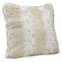 Lynx Faux Fur Pillows by Fabulous Furs