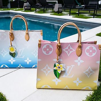 LV Louis Vuitton Onthego By the Pool Tote Bag Tote Bag Shoulder Bag