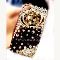 iPhone 4 Case, iPhone 4s Case, iPhone 5 Case, iPhone 5 Bling Case, Bling iPhone 4 case, Unique iPhone 4 case, iphone 4 case crown, iphone 4