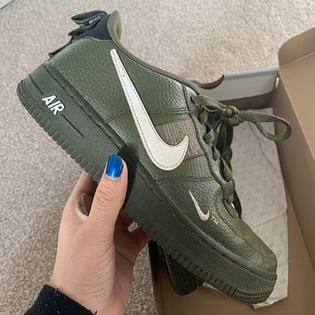 Nike Air Force 1 AF1 Utility Low-Top Men's and Women's Sneakers Shoes