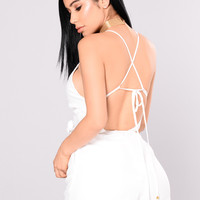 Just Memories Romper - White