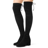 Over The Knee Suede Thigh High Boots