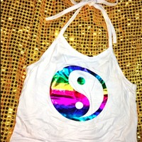 SWEET LORD O'MIGHTY! DISKO YINYANG HALTER