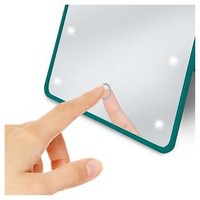 LED Touch Cosmetic Mirror with Easel Back Be U : Target